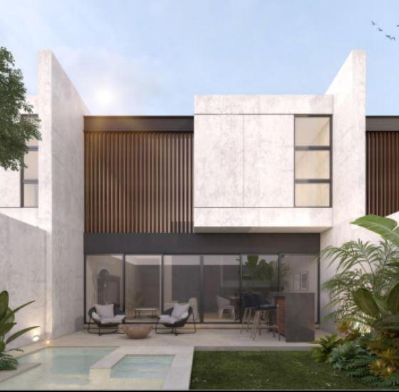 City House Temozón (piscina, terraza y cochera techada)