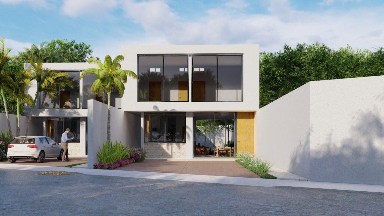 Casas en Venta Las Acacias en Chichi Suarez_Perspectiva Casa Tipo A 1