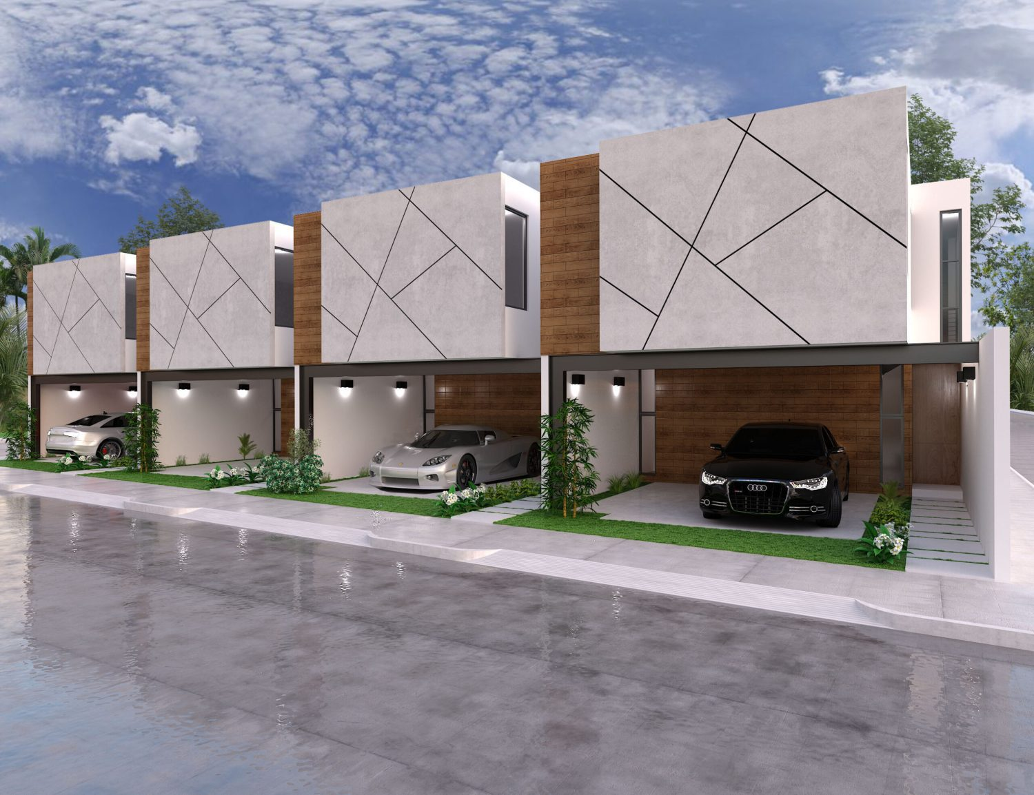 Townhouses 8-18 en Dzitya Mérida