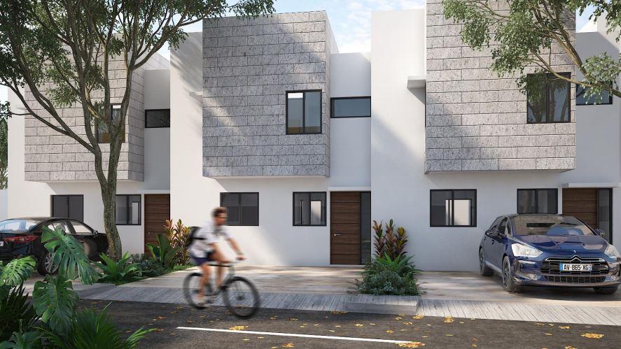 Casas en privada KAXAN en Chuburná de Hidalgo