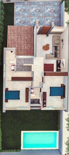 Casas en Venta en Privada Zendera Conkal_3
